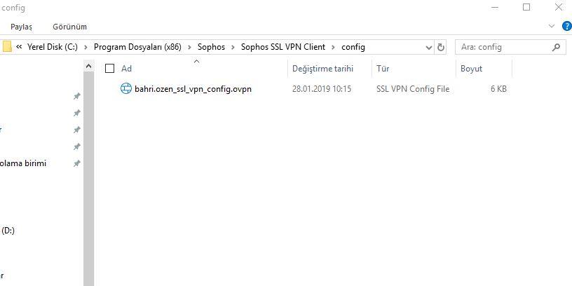 Sophos XG Firewall da SSL VPN Yapılandırma – BozenLab